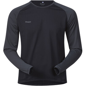 Bergans Slingsby Long Sleeve Herr black/solid charcoal